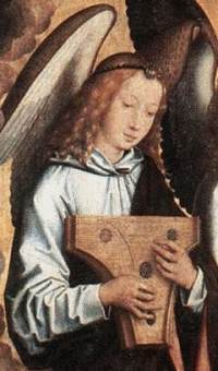Psaltery 1490 Hans Memling Germany Hetherlands Triptych 2